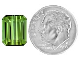 Green Tourmaline 11x9mm Emerald Cut 5.25ct