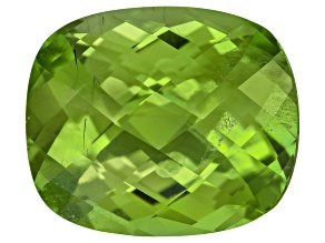 Peridot 13.8x11.7mm Rectangular Cushion 8.73ct
