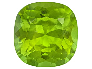Picture of Peridot 13.2mm Square Cushion 10.09ct