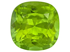 Peridot 13.2mm Square Cushion 10.09ct