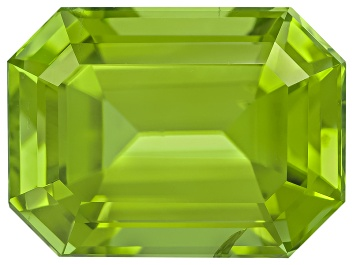 Picture of Peridot 11.6x8.6mm Emerald Cut 5.31ct