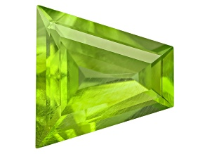 Peridot 13.14x12.75mm Fancy Shape Step Cut 6.90ct
