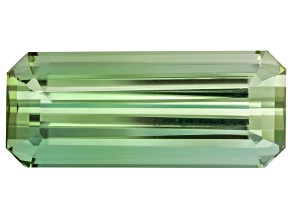 Green Tourmaline 15.63x6.5mm Emerald Cut 4.94ct