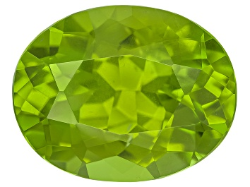 Picture of Peridot 12.5x9.8mm Oval Mixed Step Cut 5.31ct