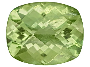 Peridot 11.5x9.5mm Rectangular Cushion Mixed Step Cut 4.52ct