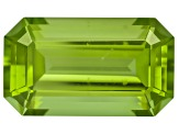 Peridot 14.13x8.2mm Emerald Cut 6.54ct