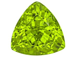 Peridot 10.8mm Trillion 5.29ct