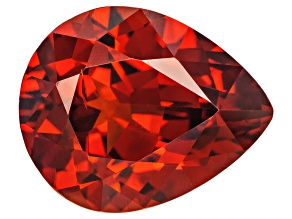 Garnet Spessartite 11.2x9.1mm Pear Shape Mixed Step 4.64ct