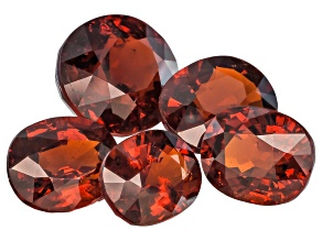 Nigerian Spessartite Garnet Set Of Five 11.05ct