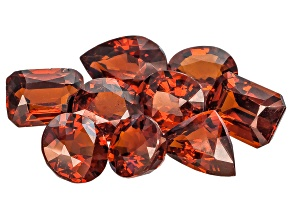 Nigerian Spessartite Garnet Set Of Nine 11.87ct