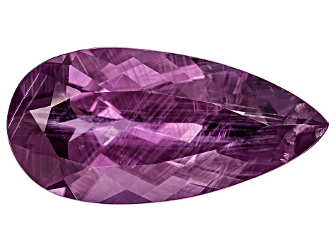 Purple Spinel 15.5x7.6mm Pear Shape Mixed Step 4.11ct