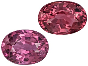 Pink Spinel Oval Mixed Step Set 2.50ctw