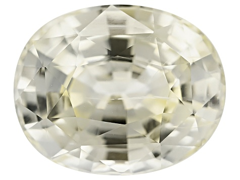 Yellow Sapphire Unheated 10.56x8.54mm Oval Mixed Step 4.61ct