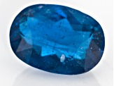 Blue Afghanite Fluorescent 7.99x5.69mm Oval 1.06ct