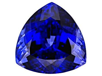 Picture of Tanzanite 23.49x23.41mm Trillion 54.65ct