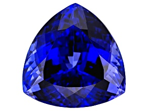 Tanzanite 23.49x23.41mm Trillion 54.65ct