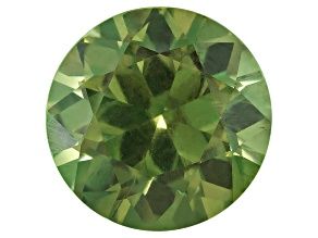Garnet Demantoid With Horsetail 7.2mm Round 1.76ct