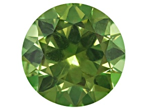 Garnet Demantoid With Horsetail 7.2mm Round 1.85ct