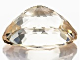 Yellow Spodumene 21.77x16.81mm Oval Brilliant Cut 27.67ct