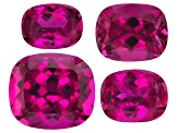 Rubellite Tourmaline Rectangular Cushion Set 16.59ctw