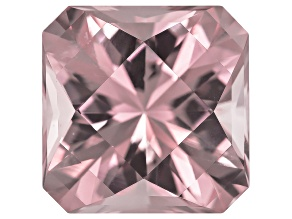 Morganite 24.00x23.89mm Square Octagonal Custom Cut 65.04ct