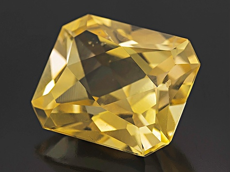 Yellow Sapphire Untreated 12.63x10.75mm Rectangular Octagonal Brilliant Cut 9.20ct