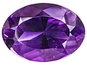 California Amethyst 30.55x21.80mm Oval 56.31ct Faceted By Buzz Gray.