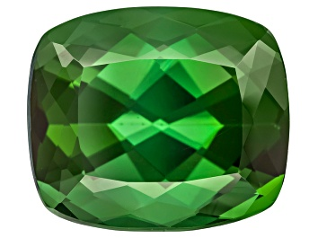 Picture of Green Tourmaline 11.69x10.00mm Cushion 6.69ct