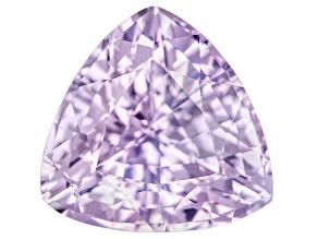Lavender Sapphire 9mm Trillion 3.84ct