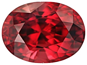 Ruby Untreated Tanzanian 7.87x5.81mm Oval 2.18ct.