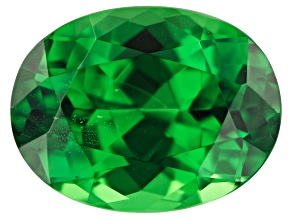 Tsavorite Campbell Bridges Collection 11.64x8.90x6.67mm oval 5.13ct