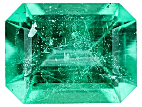 Emerald Ethiopia 8.20x6.25x4.36mm emerald cut 1.50ct