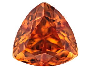 Orange Sapphire Untreated 7.2mm Trillion 1.95ct