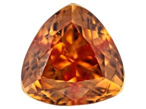 Orange Sapphire Untreated 6.5mm Trillion 1.44ct