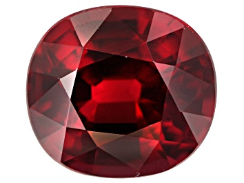 Picture of Ruby Untreated Vivid Red 6.17x5.60mm Rectangular Cushion 1.12ct