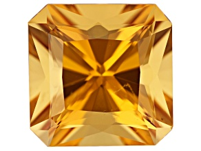 Golden Beryl 17mm Square Octagonal Radiant Cut 18.77ct