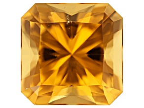 Golden Beryl 17.64ct 16.28x16.27mm Square Octagonal Radiant Cut