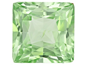 Vanadium Chrysoberyl 10mm Princess Cut 6.81ct