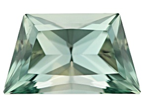 Greenish Blue Gray Sapphire Untreated 9.7x5.75x4.8mm trapazoid 2.39ct