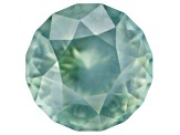 Bluish Green Untreated Sapphire 8mm Round 3.59ct