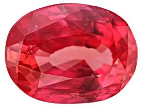 Reddish Orange Sapphire 8.68x6.49x4.72mm Oval 2.52ct