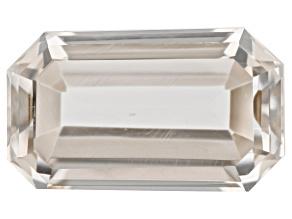 Rock Crystal Quartz 12.41x7.42x5.49mm Emerald Cut 3.82ct