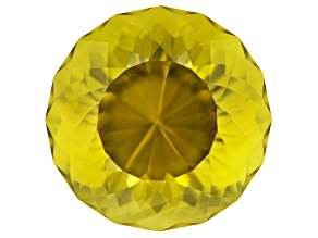 Lemon Quartz 21mm Round 34.38ct