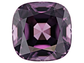 Purple spinel 10.16x10.15x7.1mm Square Cushion 6.10ct