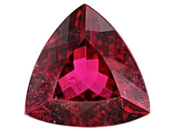 Picture of Rubellite Tourmaline 15.7x15.6x8.25mm Trillion 10.76ct