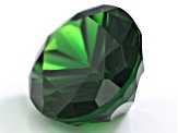 Chrome tourmaline 16.40x13.77x9.26mm quantum cut oval 13.09ct
