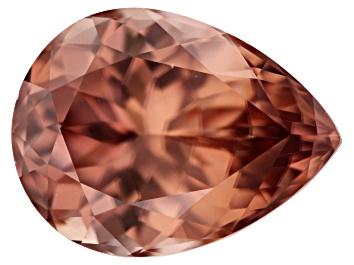 Picture of Cinnamon Color Zircon 13.75x10.41x6.90mm Pear Shape 8.68ct