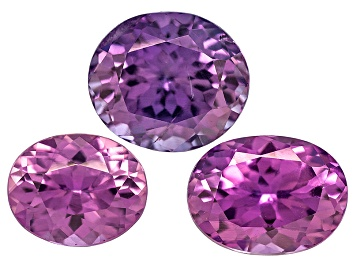 Picture of Purple Sapphire Oval Set 2.26ctw