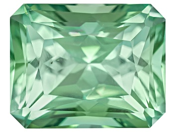 Picture of Green Tourmaline Untreated 7.85x6.28mm Rectangular Octagonal Radiant Cut 1.90ct