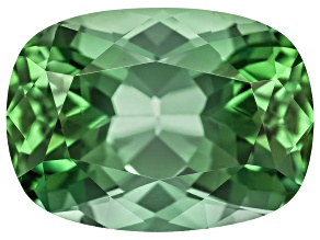 Green Tourmaline Untreated 12.08x8.82mm Rectangular Cushion 5.15ct